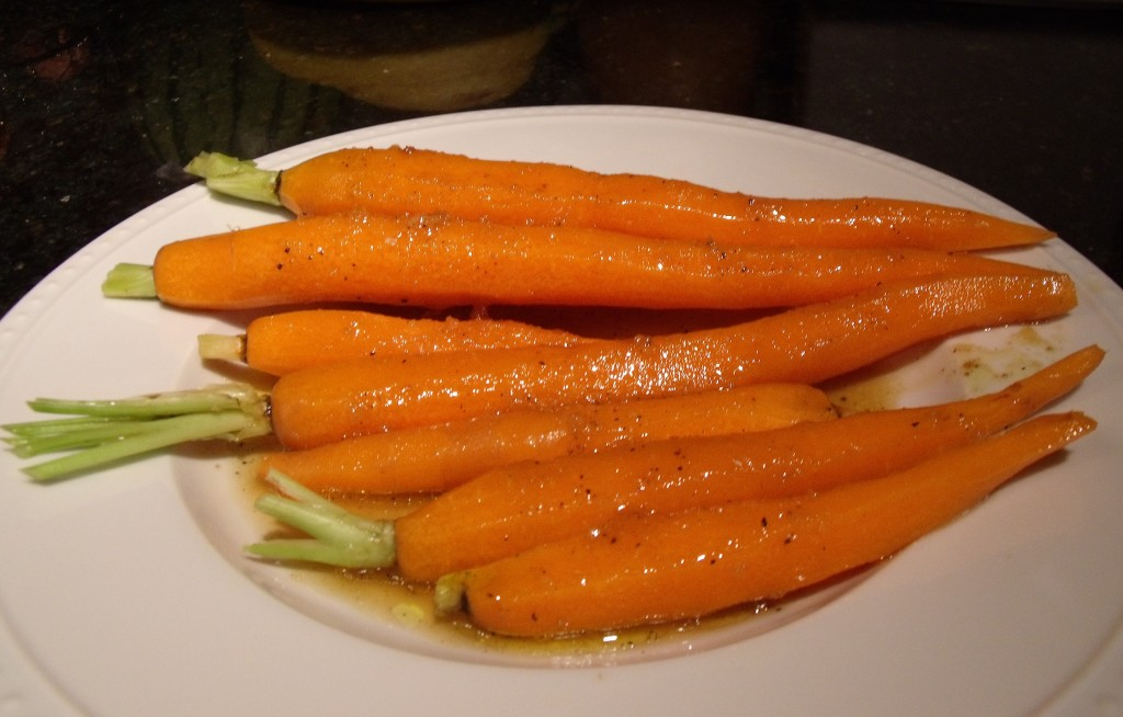 carrots-marinating